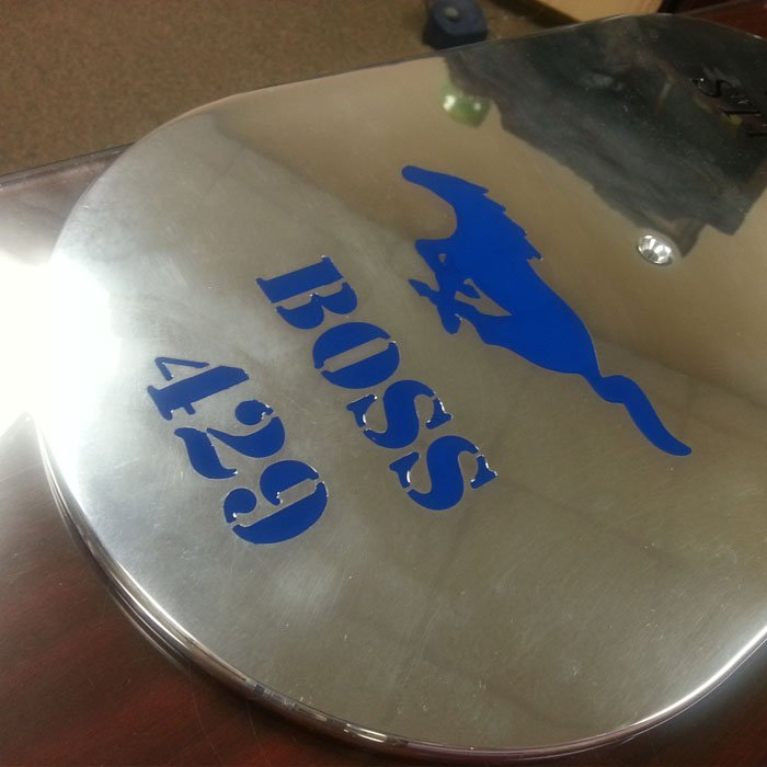 custom engraving color printing - metal art