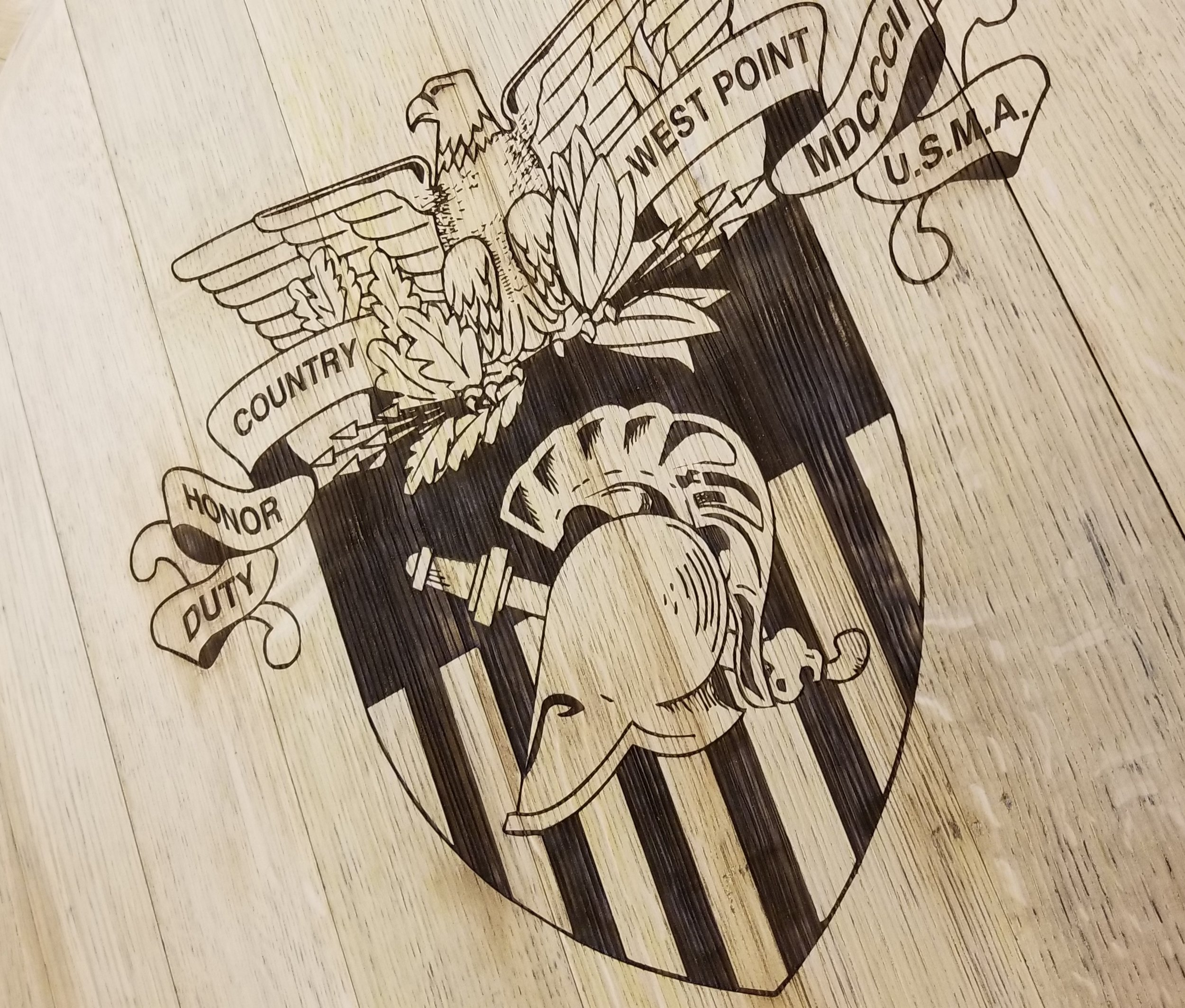 Copy of Wood Engraving - Custom Wood Burning - Custom Projects - Engrave It Houston