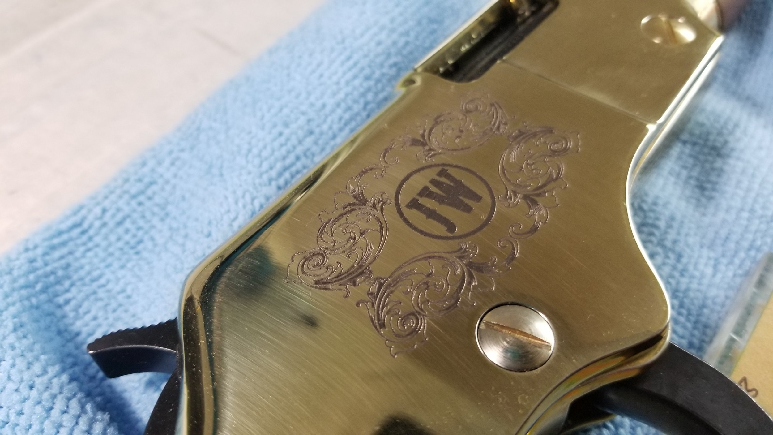 Engraved Rifle - Personalized Rifle - Custom Rifle - Firearm Engraving Projects - Engrave It Houston