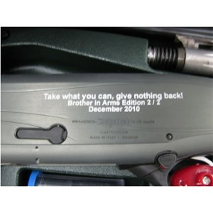 Engraved Shotgun - Personalized Shotgun - Custom Shotgun - Firearm Engraving Projects - Engrave It Houston