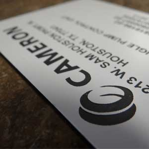 Industrial Marking - Custom Plastic Plates - Engrave It Houston