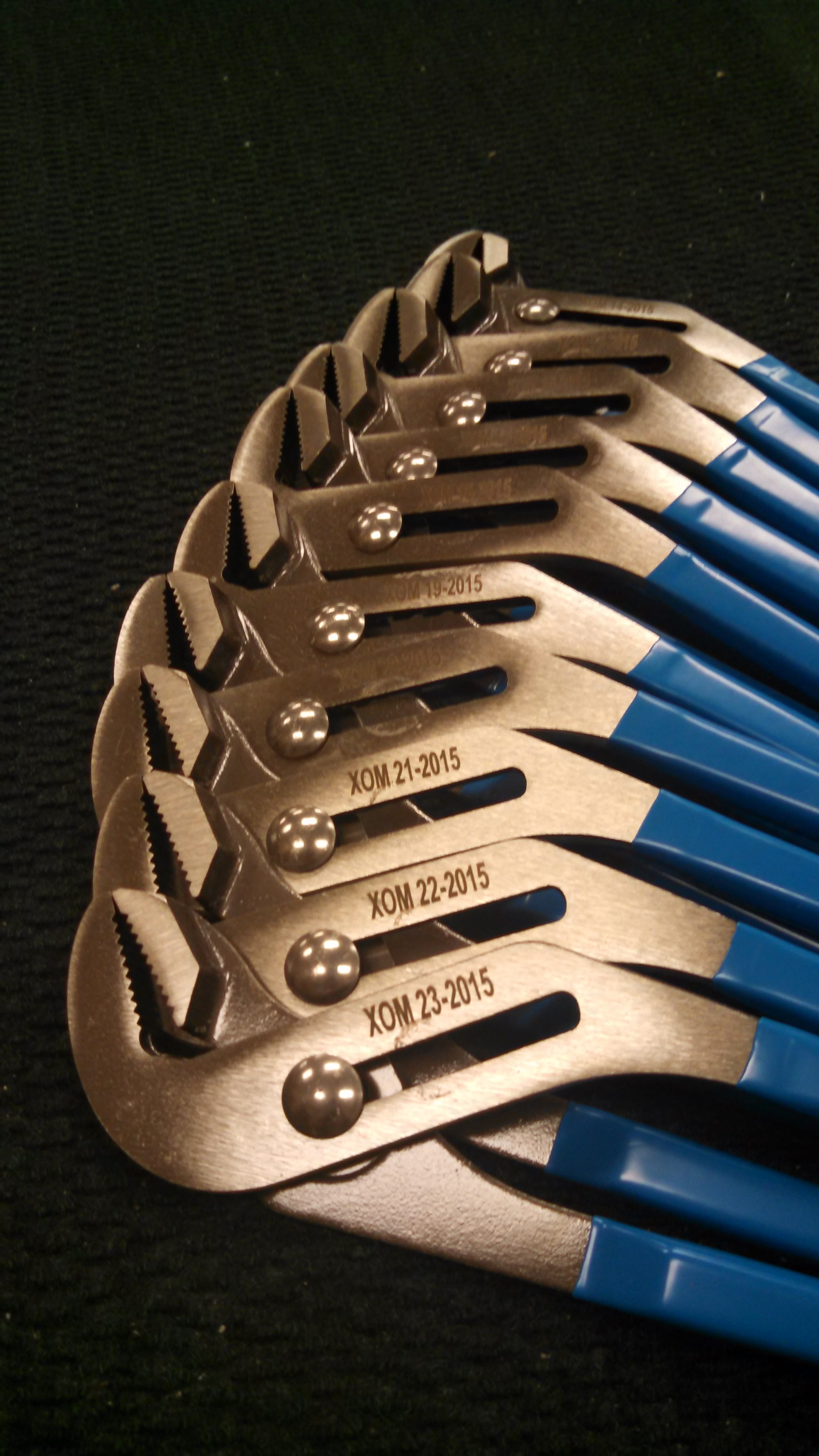 Industrial Engraving - Personalized Engraved Tools - Engrave It Houston