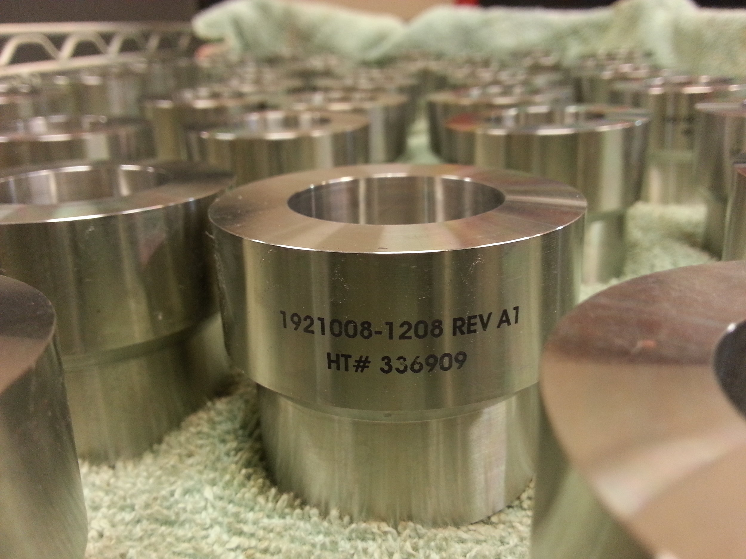 Industrial Engraving - Industrial Part Labeling - Engrave It Houston