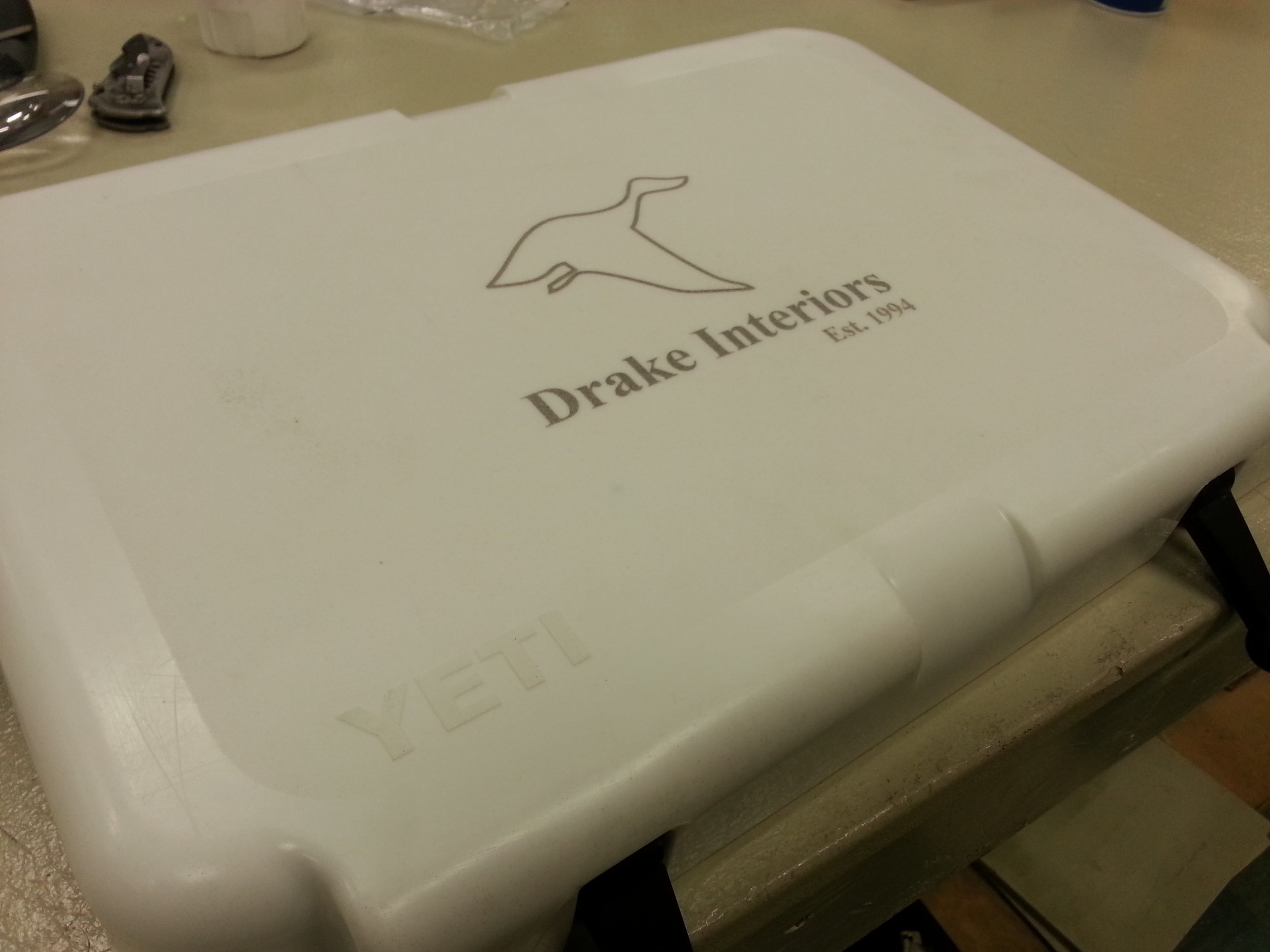 Copy of Engraved Yeti Cooler - custom Yeti Cooler - Personalized Yeti Cooler - Engraved Cooler - Personalized Cooler - Engrave It Houston