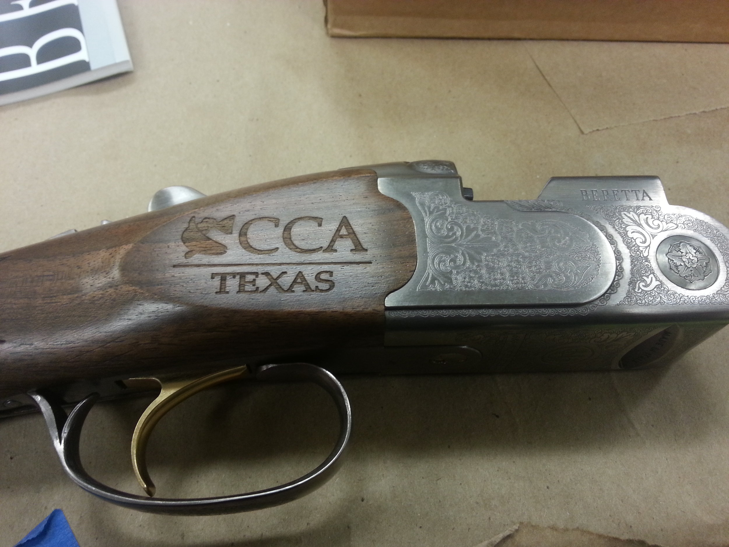 Custom Engraved Shotgun - Personalized Shotgun Engraving - Firearm Projects from Engrave It Houston