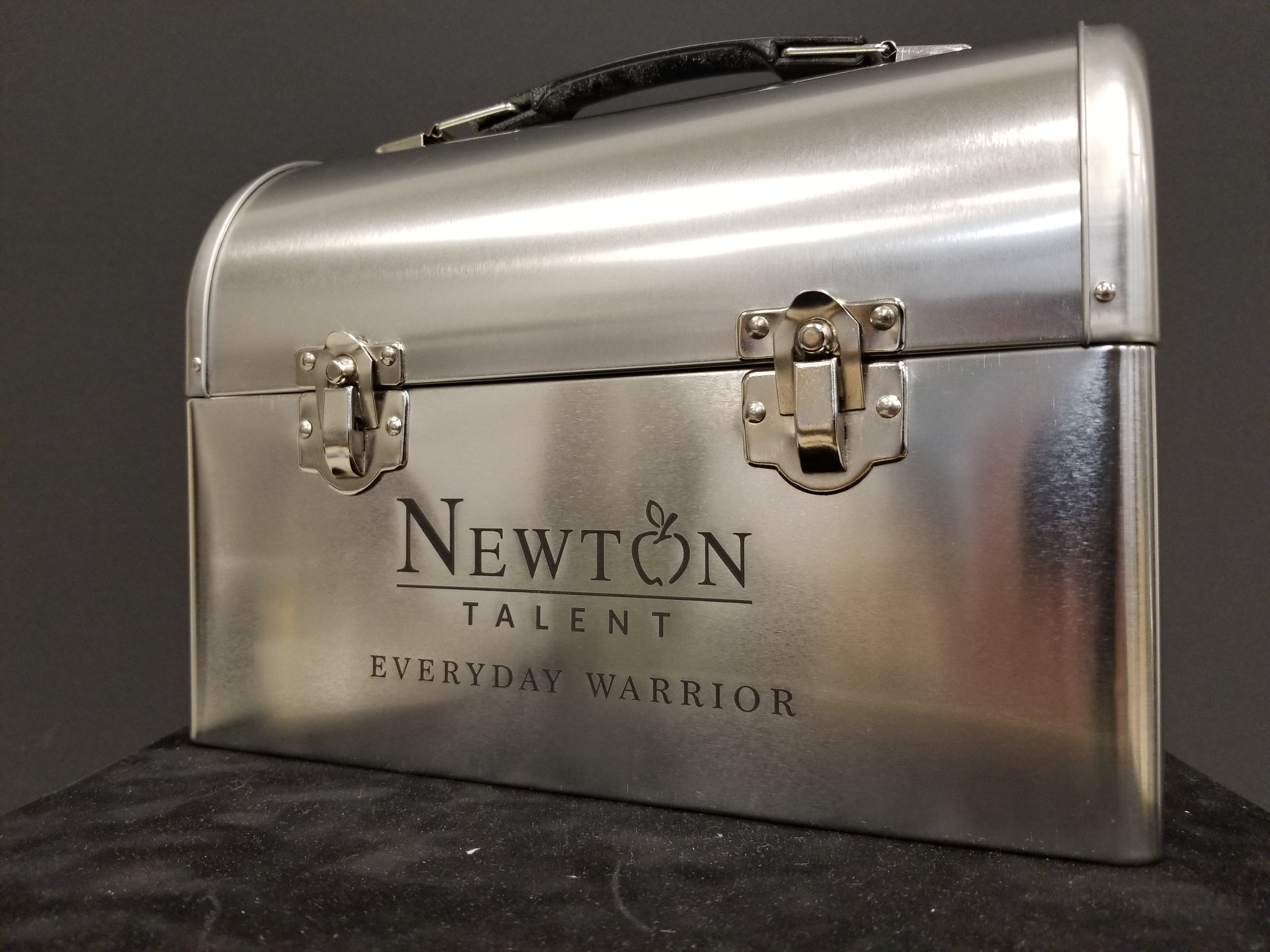 Branded Lunch Box - Custom Branded Award - Branded Marketing Giveaway - Corporate Identity Projects - Branding Projects from Engrave It Houston