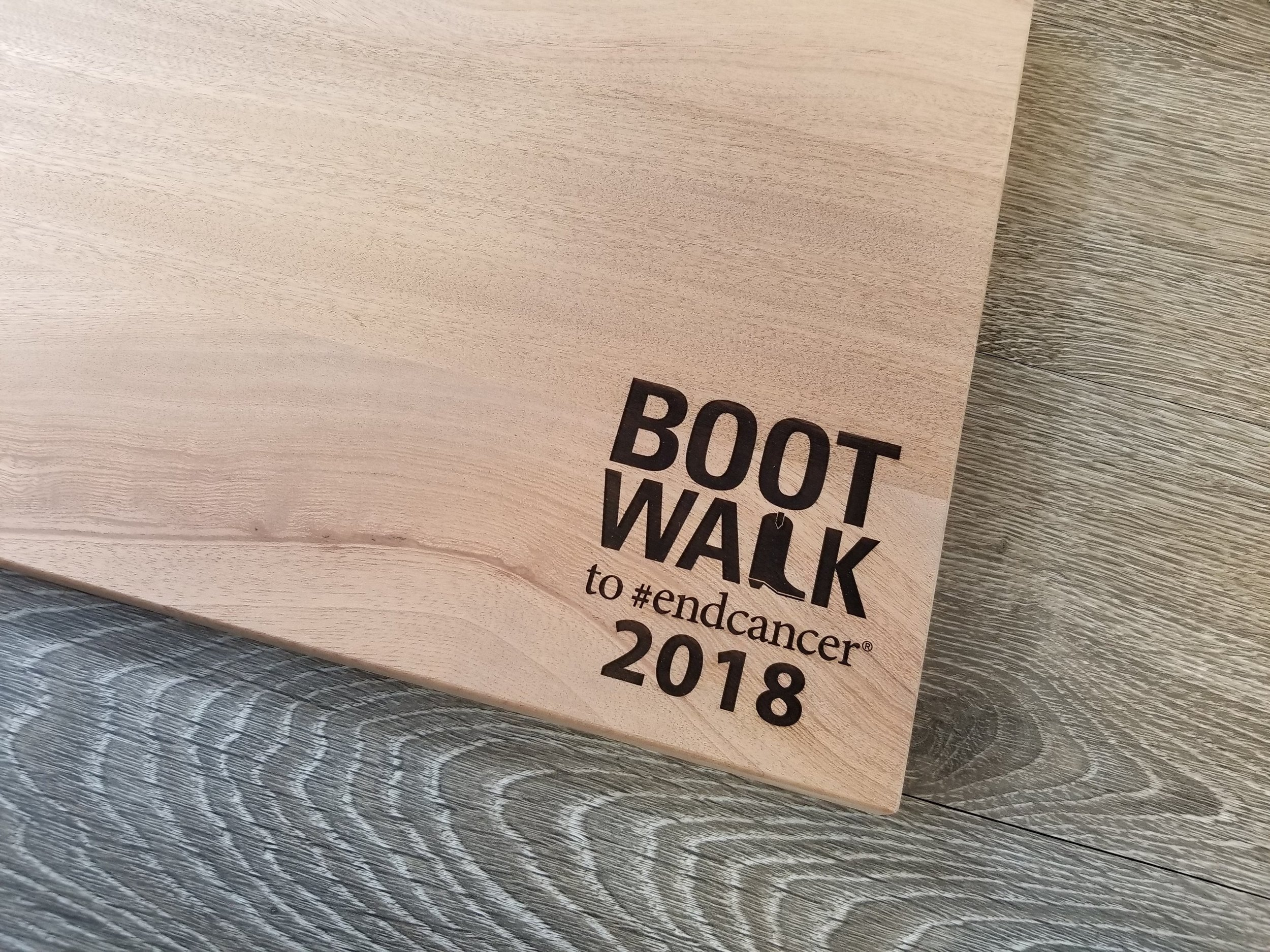 Branded Cutting Board - Branded Engraved Cutting Board - Event Swag - Event Merchandise - Branded Awards - Custom Trophies - Engrave It Houston