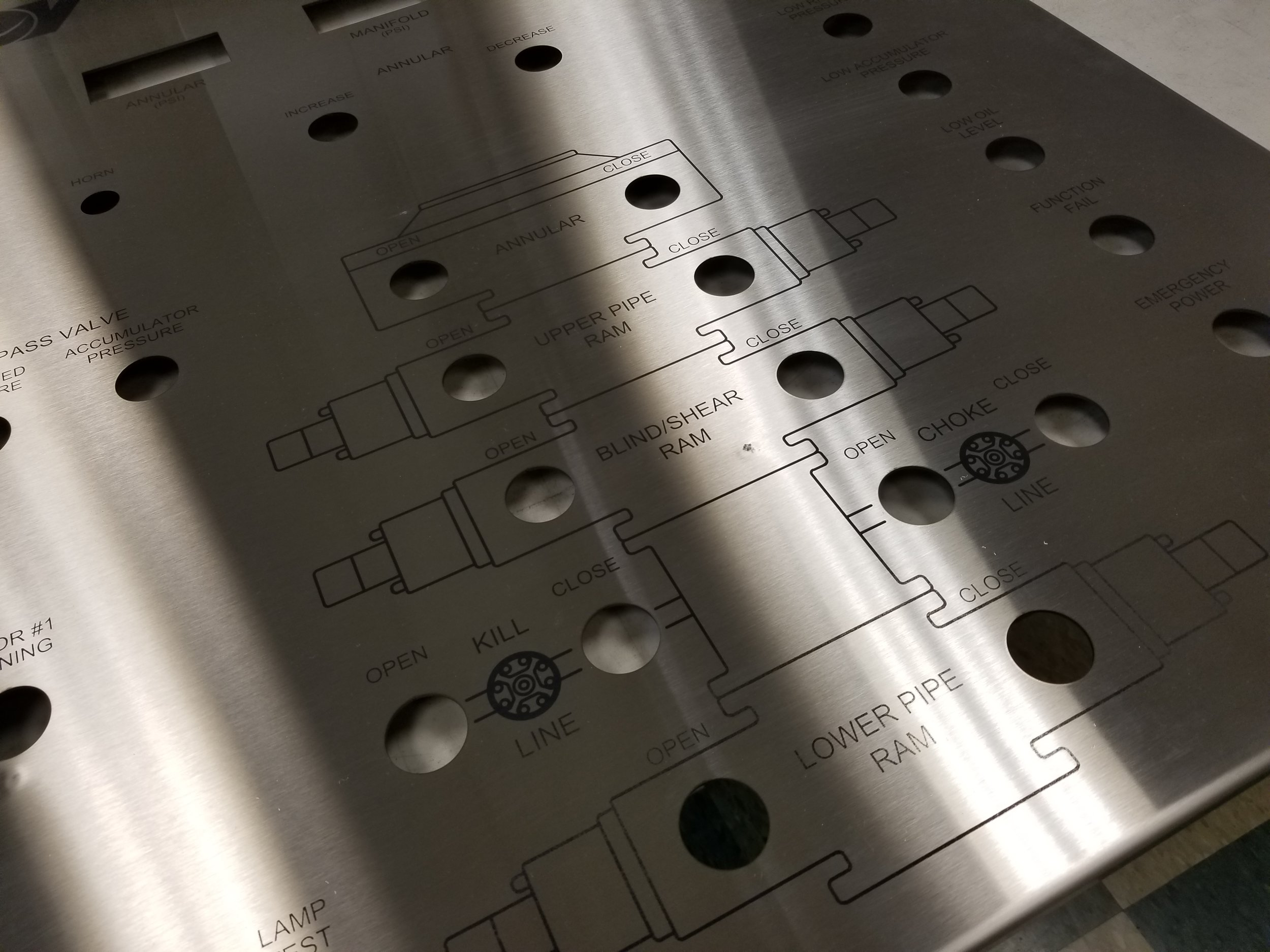 Enclosure Engraving - Custom Enclosure Engraving - Industrial Enclosure Engraving - Industrial Enclosure Fabrication - Engrave It Houston