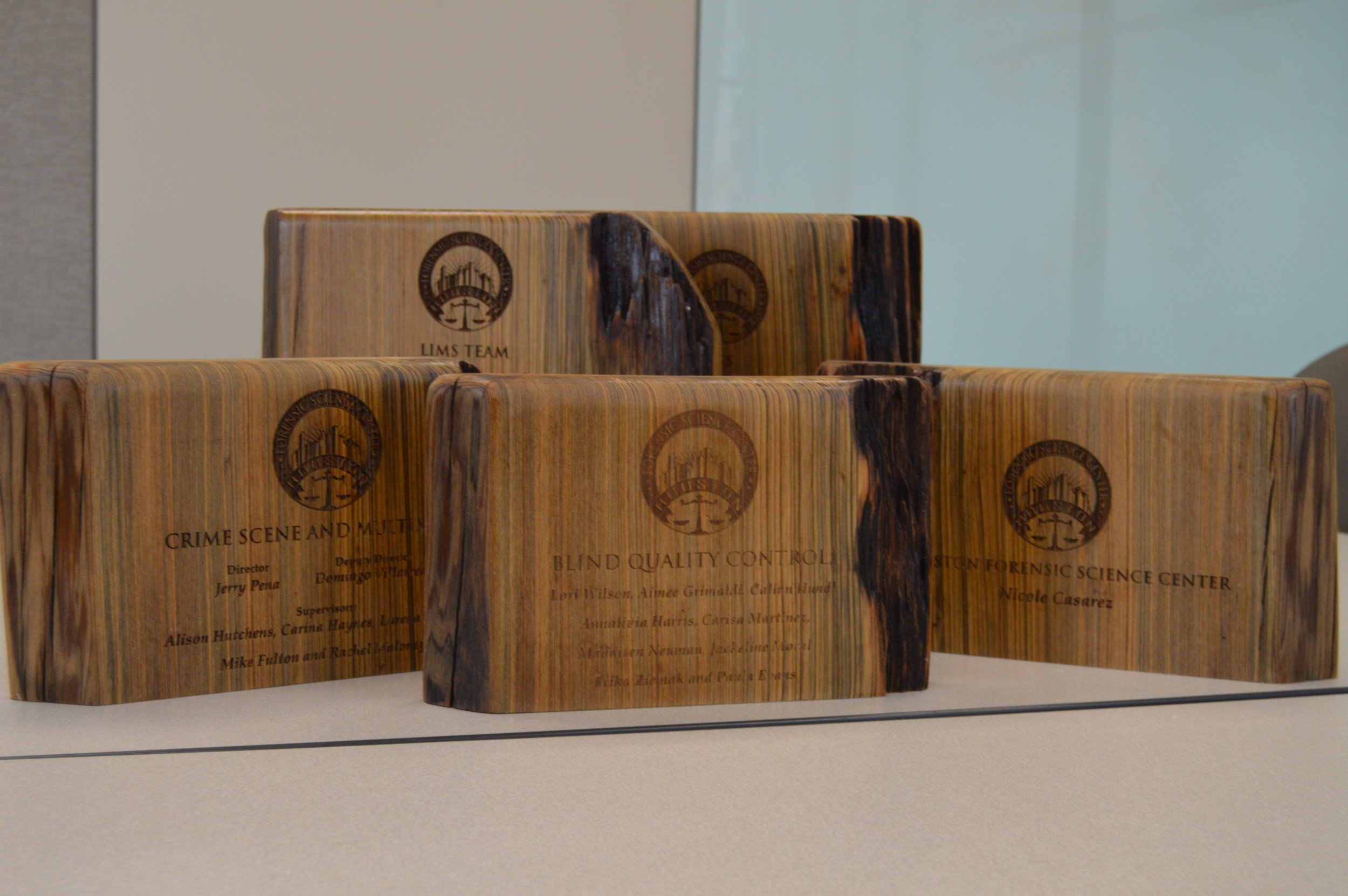 Branded Award - Custom Awards - Wood Burning - Custom Wood Burning - Laser Engraved Wood Awards - Laser Engraved Awards - Custom Awards - Engrave It Houston