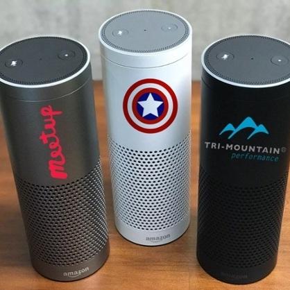 Branded Amazon Smart Speakers -