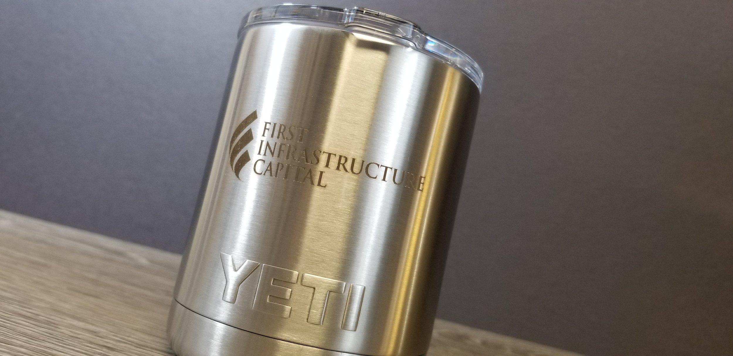 Custom Branded Yeti Tumblers - Custom Printed Yeti Tumblers - Logo Printed on Yeti Tumblers - Engrave It Houston