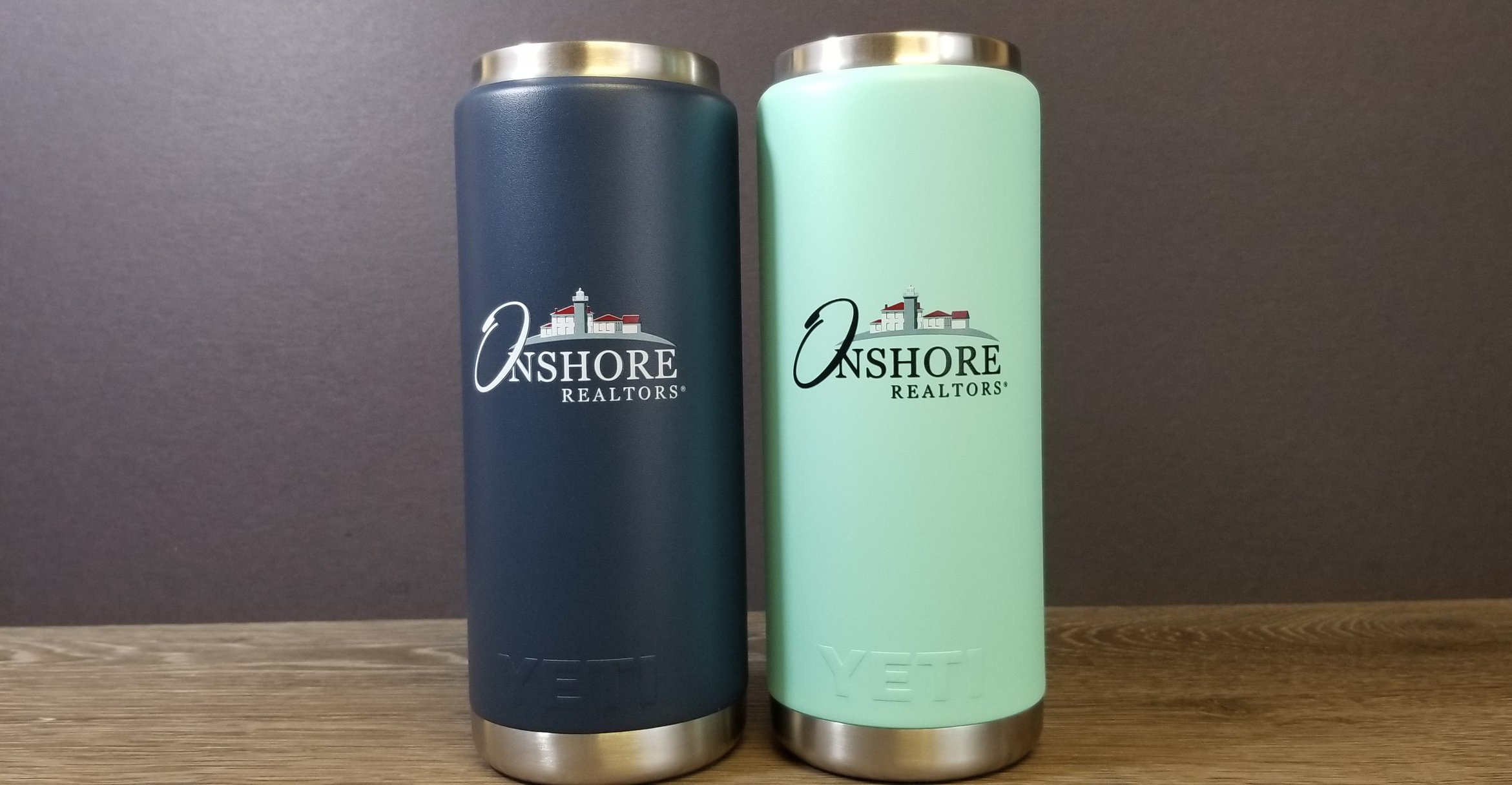Custom Branded Yeti Water Bottles - Custom Printed Yeti Water Bottles - Logo on Yeti Water Bottle - Engrave It Houston