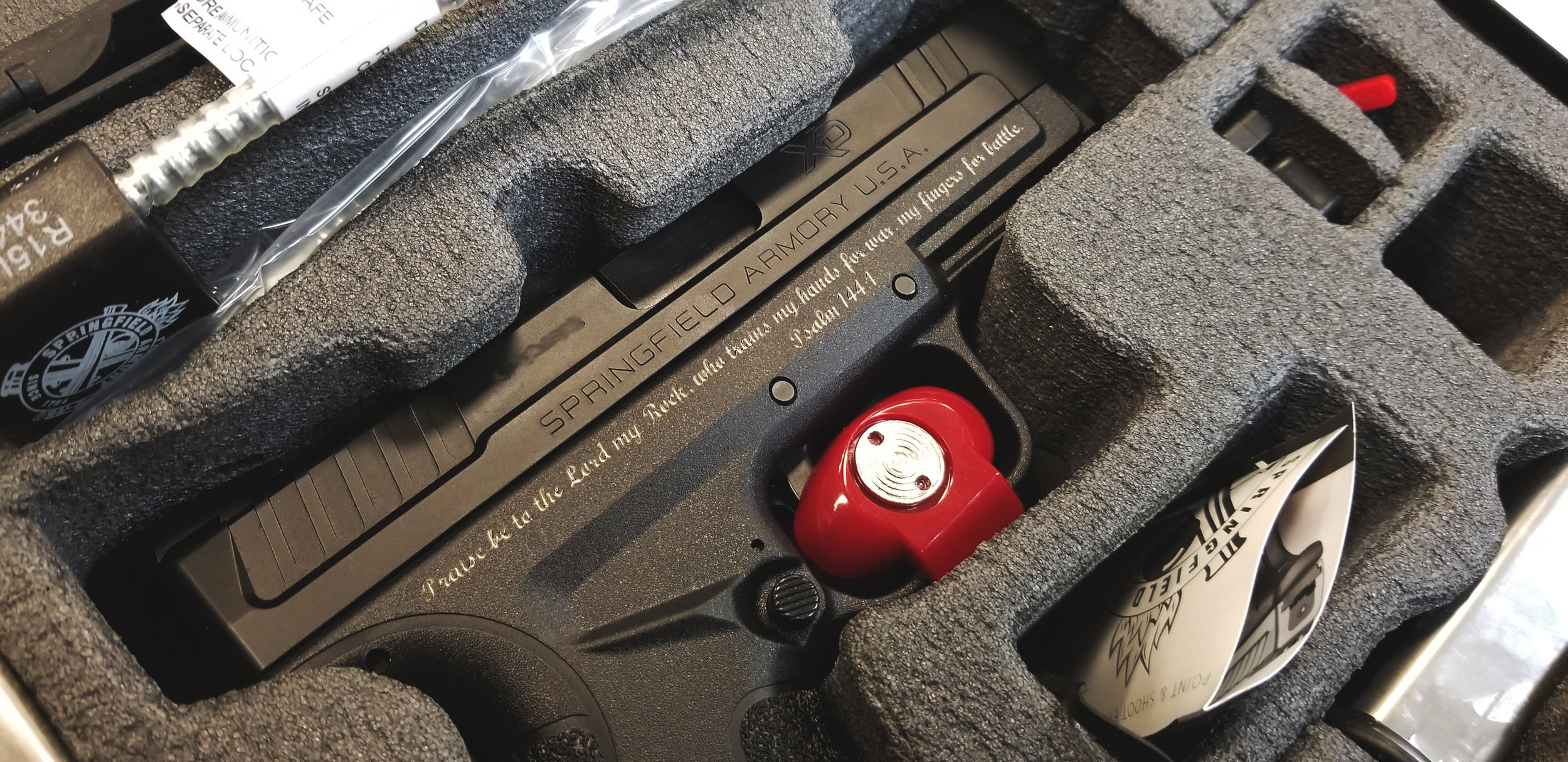 Custom Laser Engraved Firearm, Firearm Engraving, Custom Engraved Glock Slide, Engraved Glock, Gun Engraving, Slide Engraving, Custom Firearm Slide Engraving - Firearm Projects - Engrave It Houston