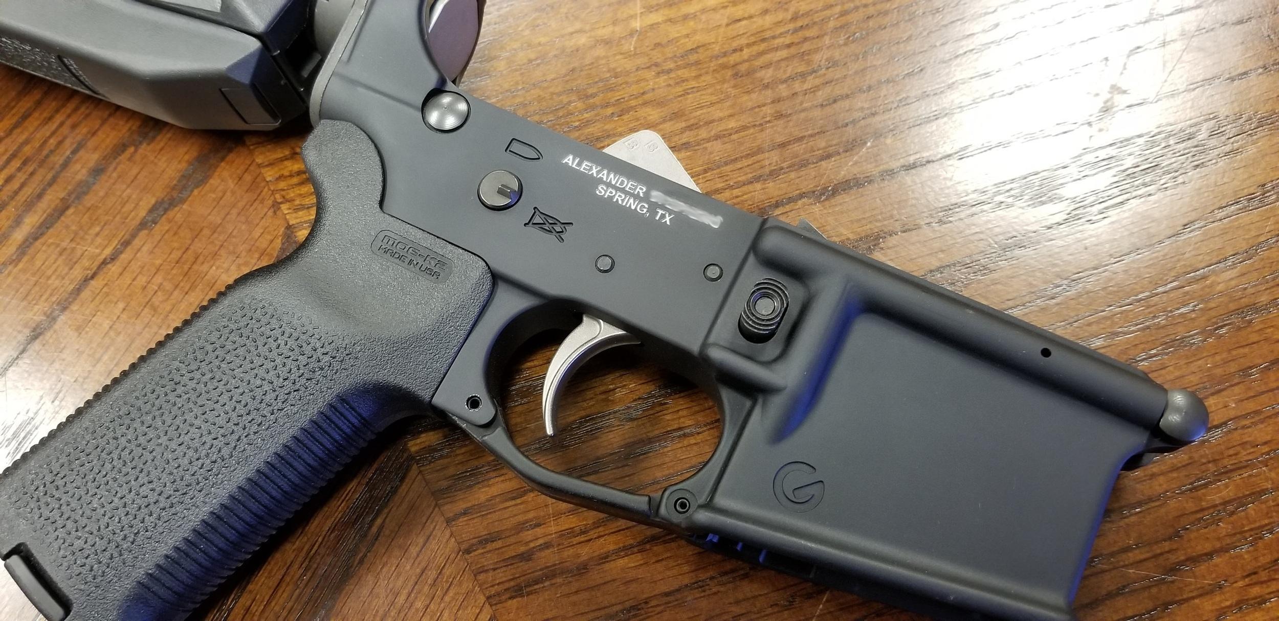 NFA Trust Engraving - NFA Engraving - ATF Engraving - Firearm Engraving - Engrave It Houston Firearms