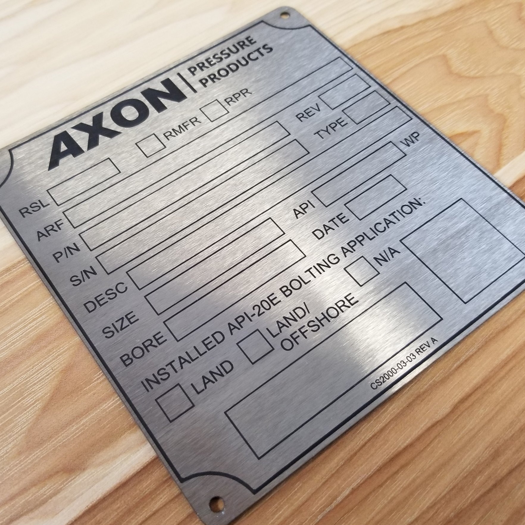 EASY TIPS FOR CLEANING YOUR METAL NAMEPLATES & TAGS -