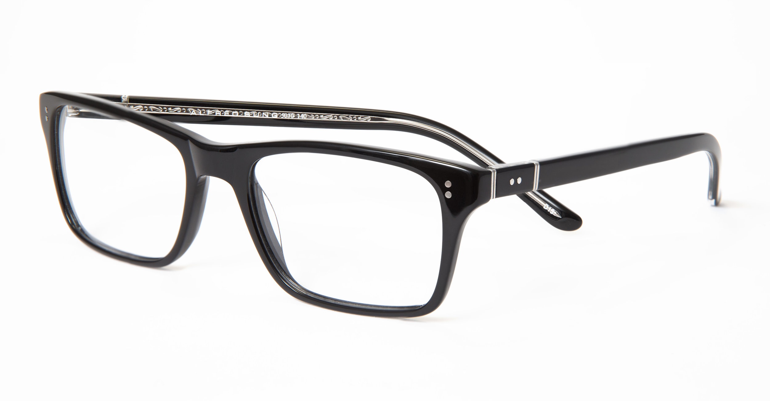 Ophthalmic quality ALFRED SUNG eyewear made in Italy