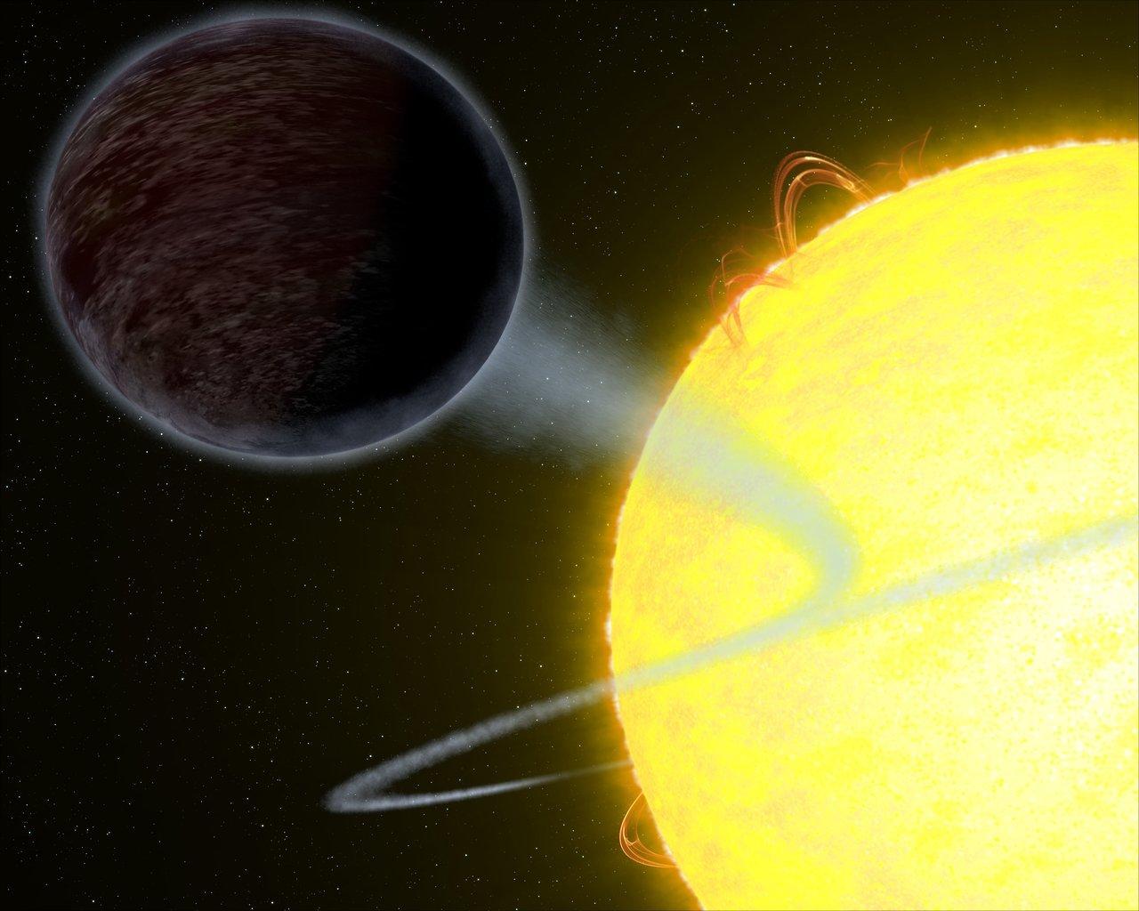 Image link:  https://exoplanets.nasa.gov/news/1456/nasas-hubble-captures-blistering-pitch-black-planet/