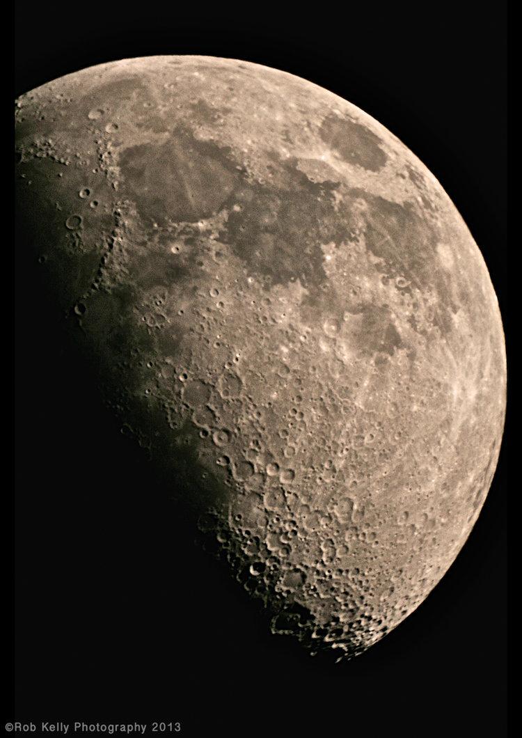A Gibbous Moon