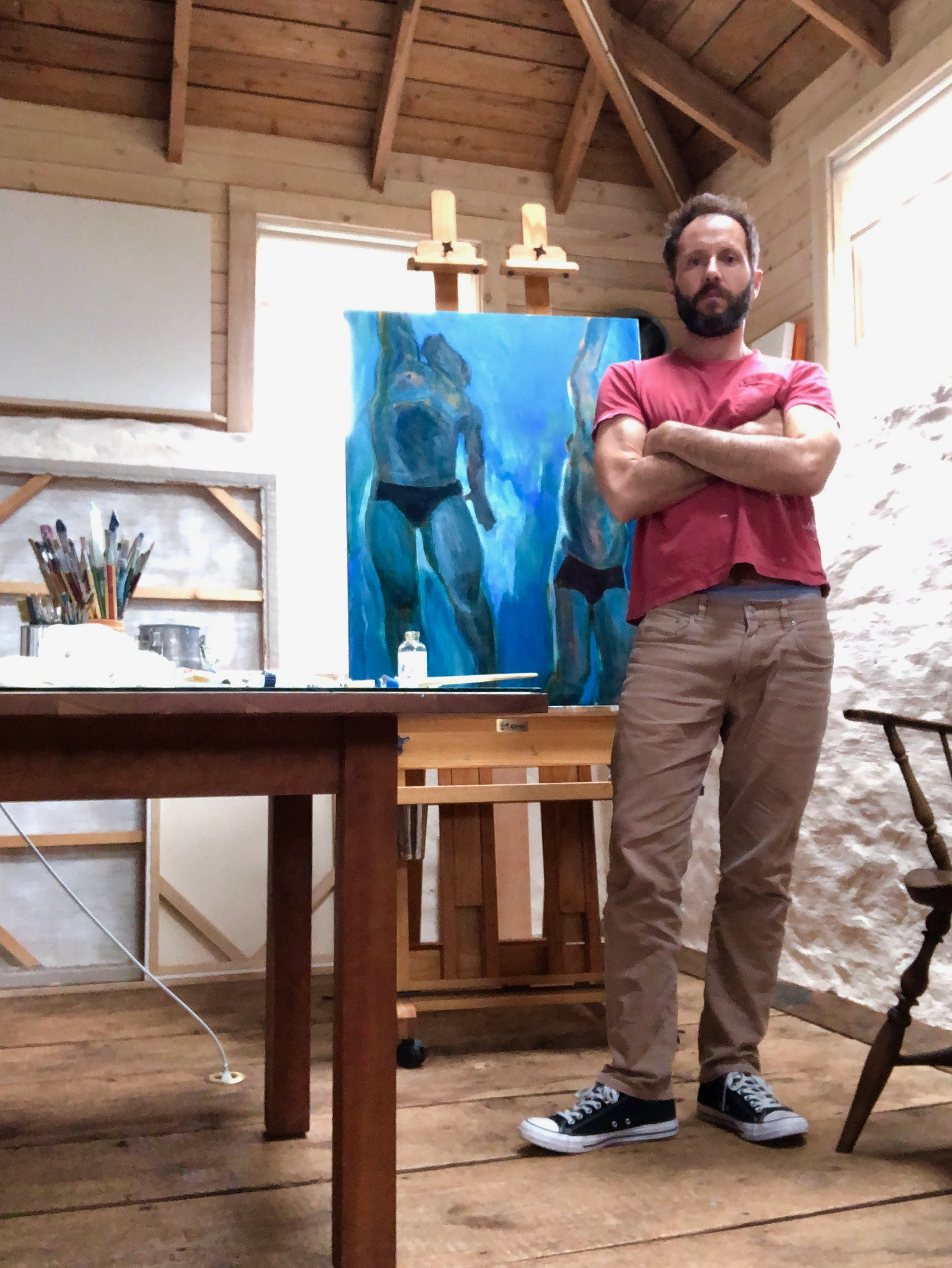 IN CONVERSATION WITHMICHAEL WALDEN - a gallery gathering with wine, words and artistic wisdom from LAND•SEA•SKY featured and popular, and inspiring artist and printmaker Michael WaldenThursday September 12th 6pmpublic is welcome reservations urged