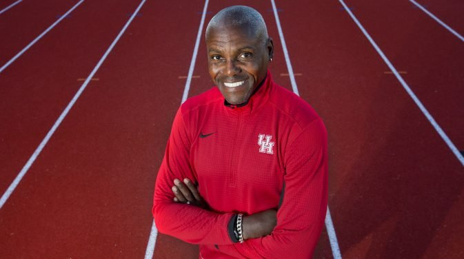 Carl Lewis  American former  track and field  athlete who won nine  Olympic   gold medals , one Olympic silver medal, and 10  World Championships  medals, including eight gold. Currently the track and field coach at the University of Houston.