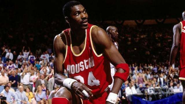 "Hakeen Olajuwon  ""The Dream"" is considered one of the greatest centers ever to play the game.  2×  NBA champion  ( 1994 ,  1995 ) 2×  NBA Finals MVP  ( 1994 ,  1995 )  NBA Most Valuable Player  ( 1994 ) 12×  NBA All-Star  ( 1985 – 1990 ,  1992 – 1997 )"