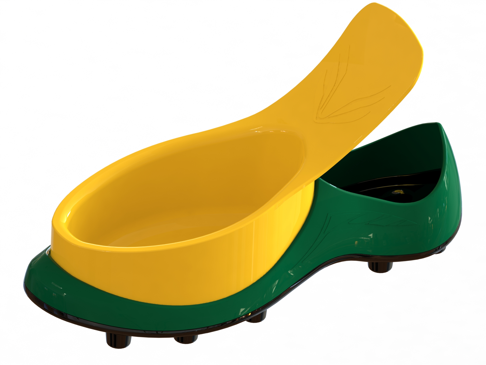 Sport in Green with Yellow Bowl.jpg