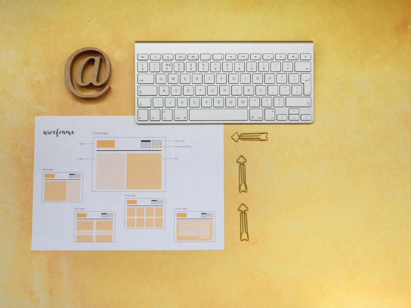 New websites & website content