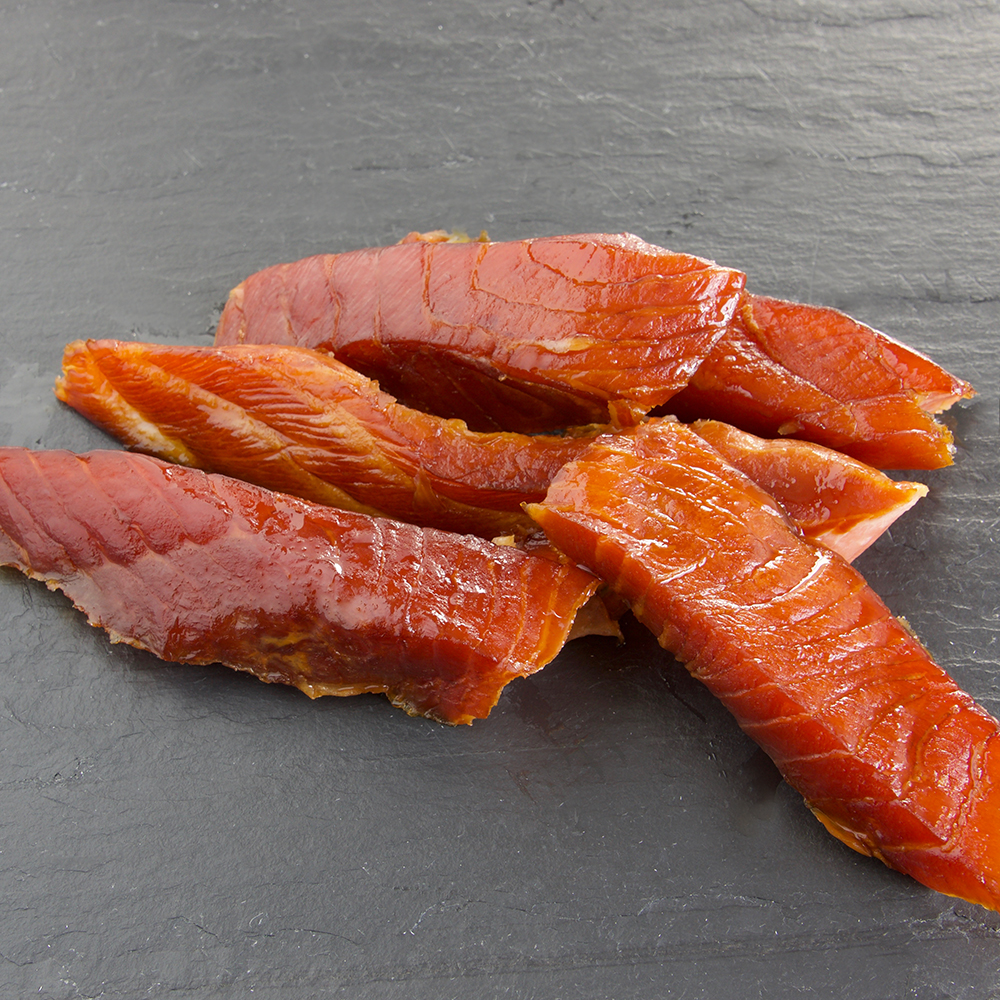 Candied Smoked Salmon