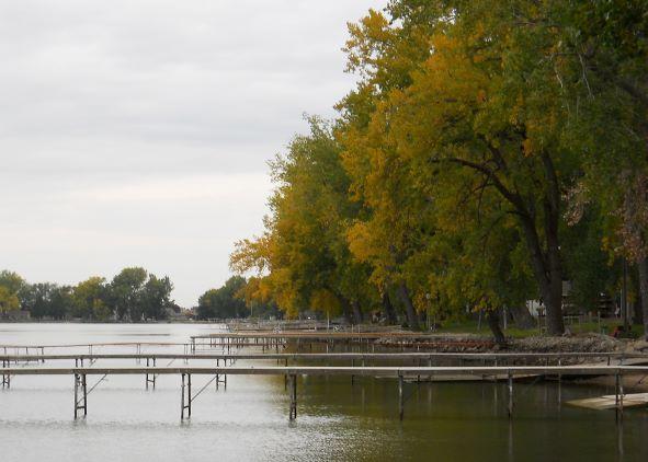 Empty Docks - preparation for the Winter Season