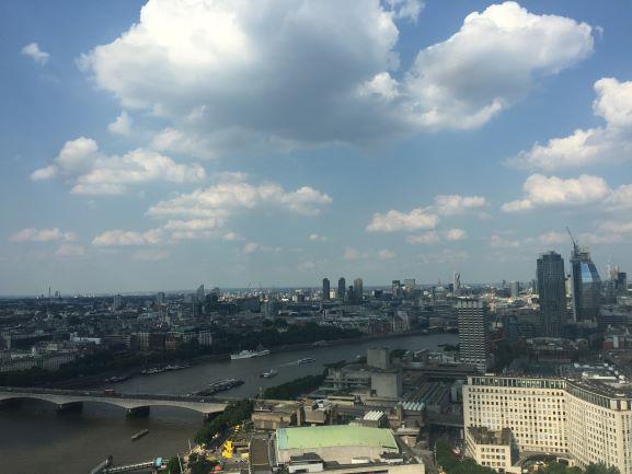 City of London taken from the London Eye