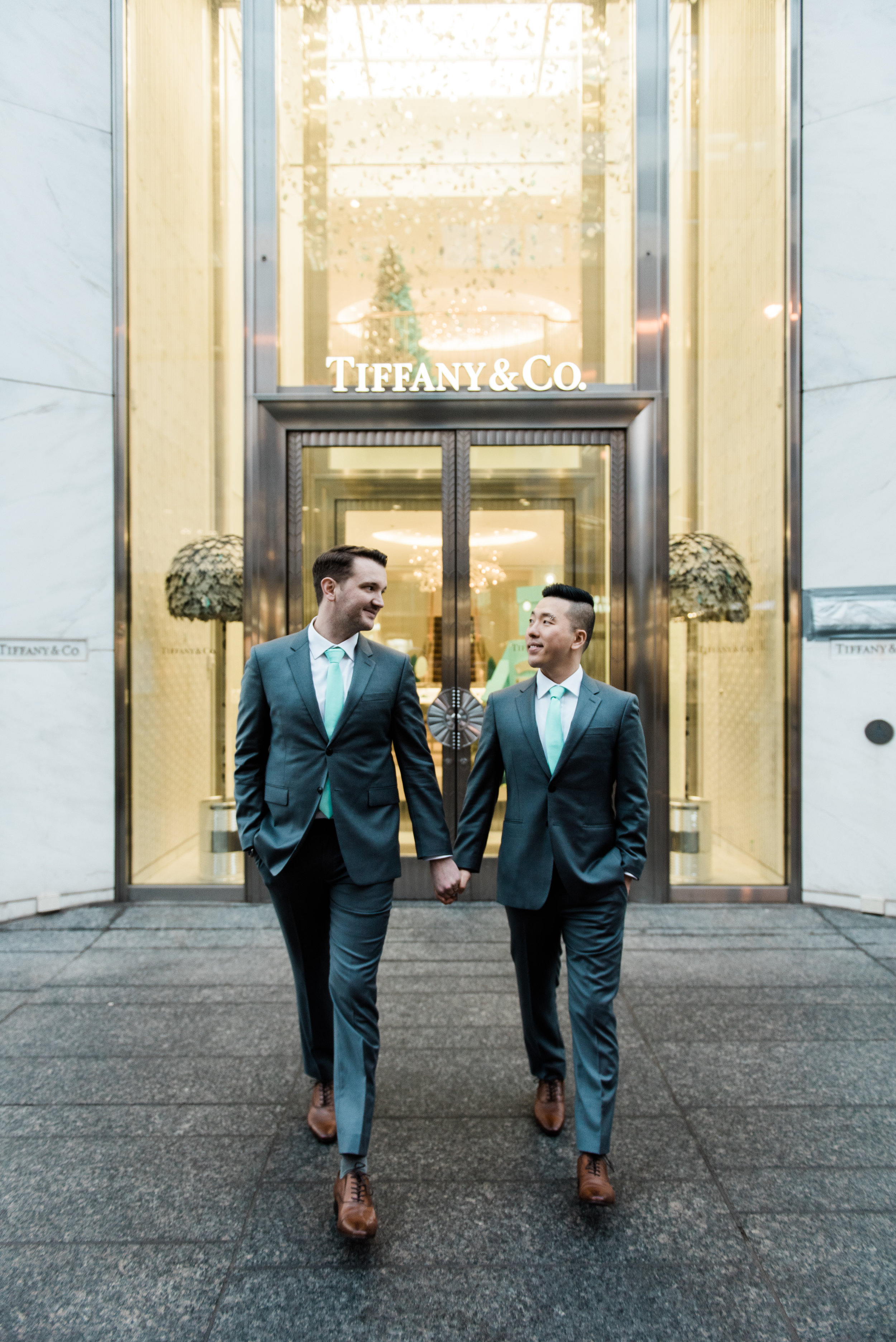 """Jake and Ray, married Dec. 2018 - """"Rachael was a dream to work with. She already was familiar with the area of our wedding. We were both nervous about getting our picture taken because we feel awkward in front of the camera, but she made it easy and made us comfortable every step of the way. She was also open to our ideas for pictures! The pictures turned out great and we even got some the next morning! I would definitely recommend her for anyone looking for a wedding photographer!"""" (Read review on Wedding Wire)"""