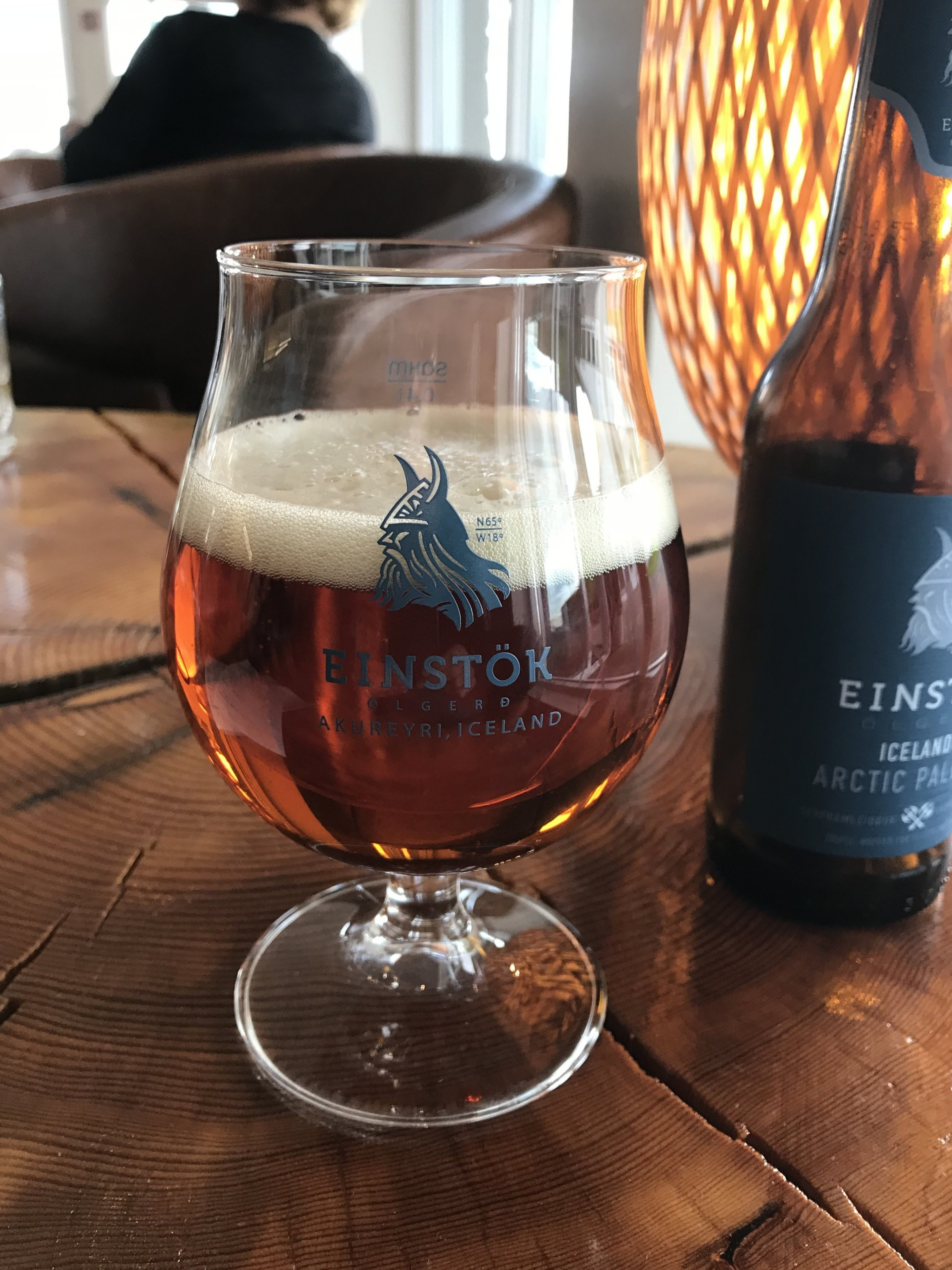Einstok Arctic Pale Ale--one of Iceland's many excellent beers.