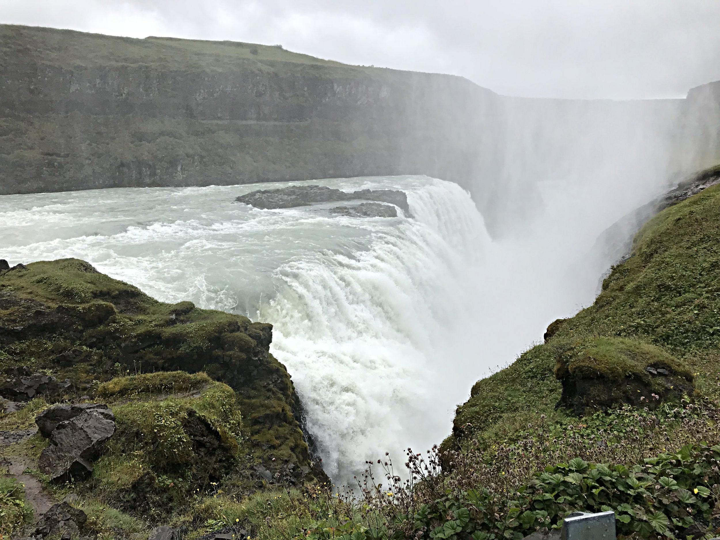 Gulfloss Waterfall
