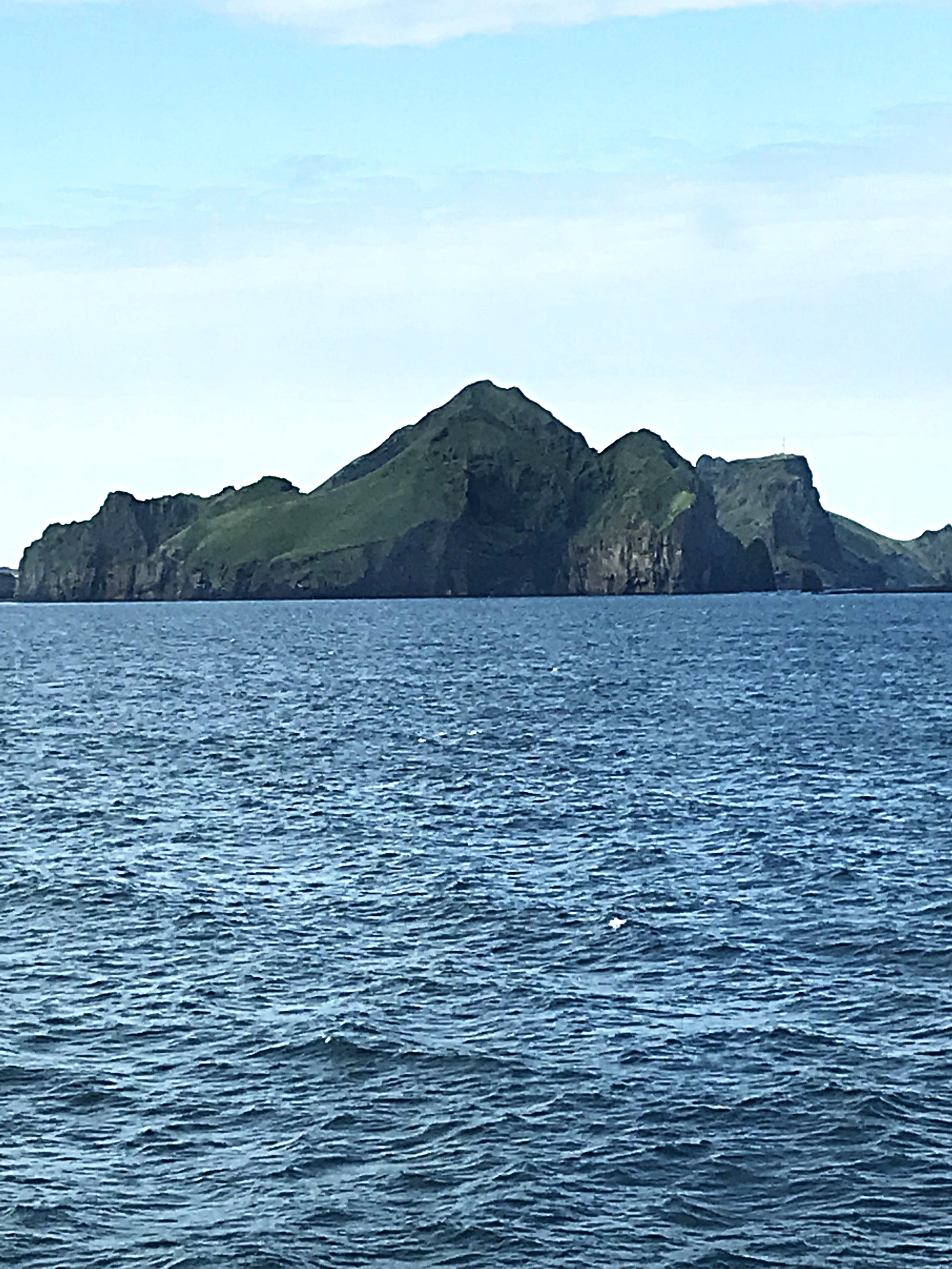 Approaching the Westman Islands from the Ferry