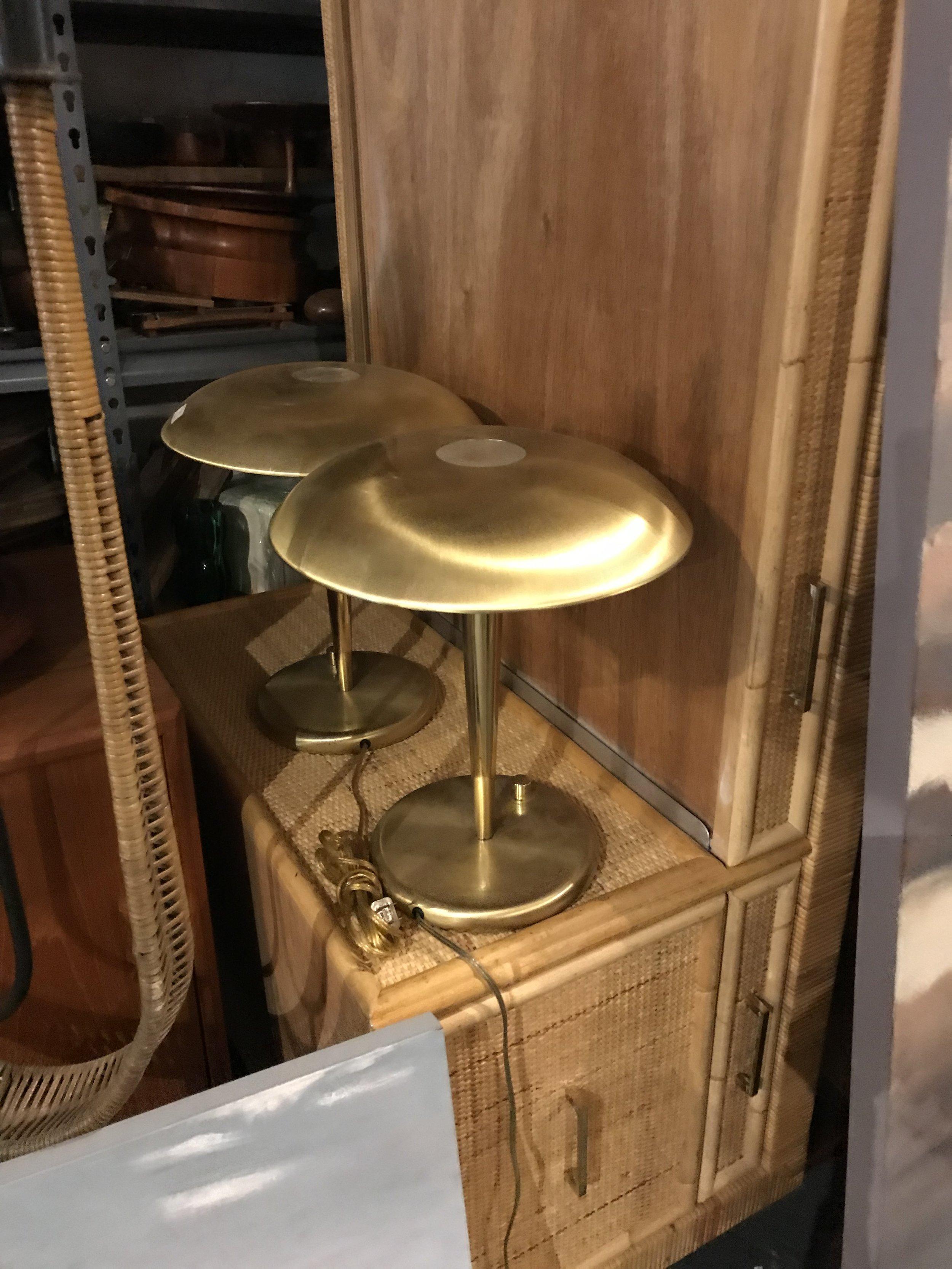 Vintage Bielecky Brothers Rattan & Bamboo Desk