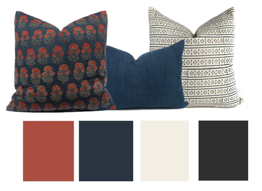Pillows and Color Scheme