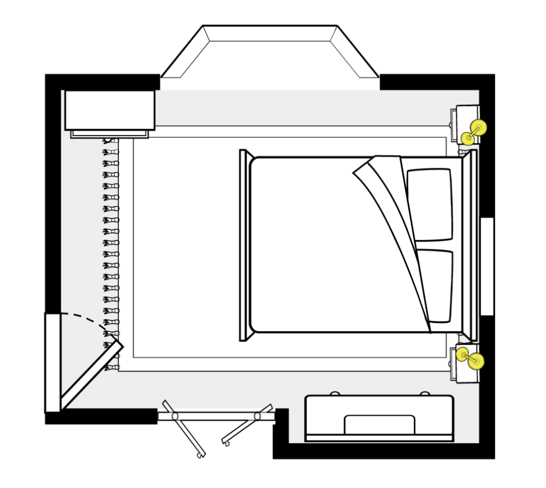 Bedroom Space Planning