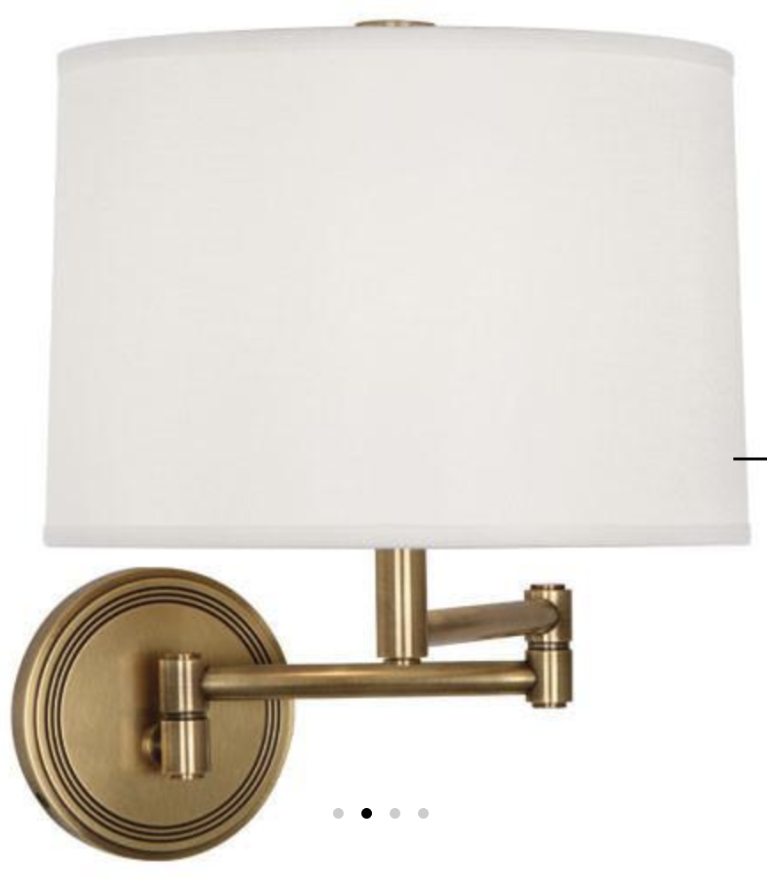 Robert Abbey Sofia Sconce in antique brass