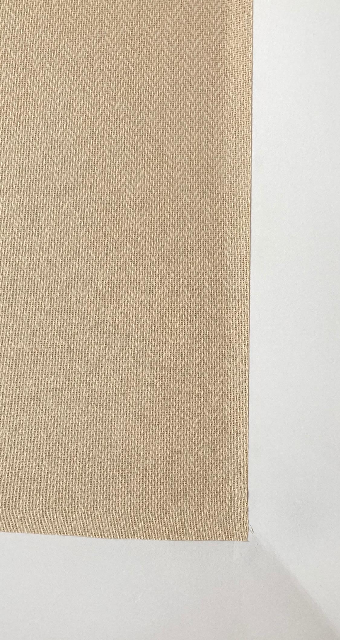 herringbone grasscloth wall covering