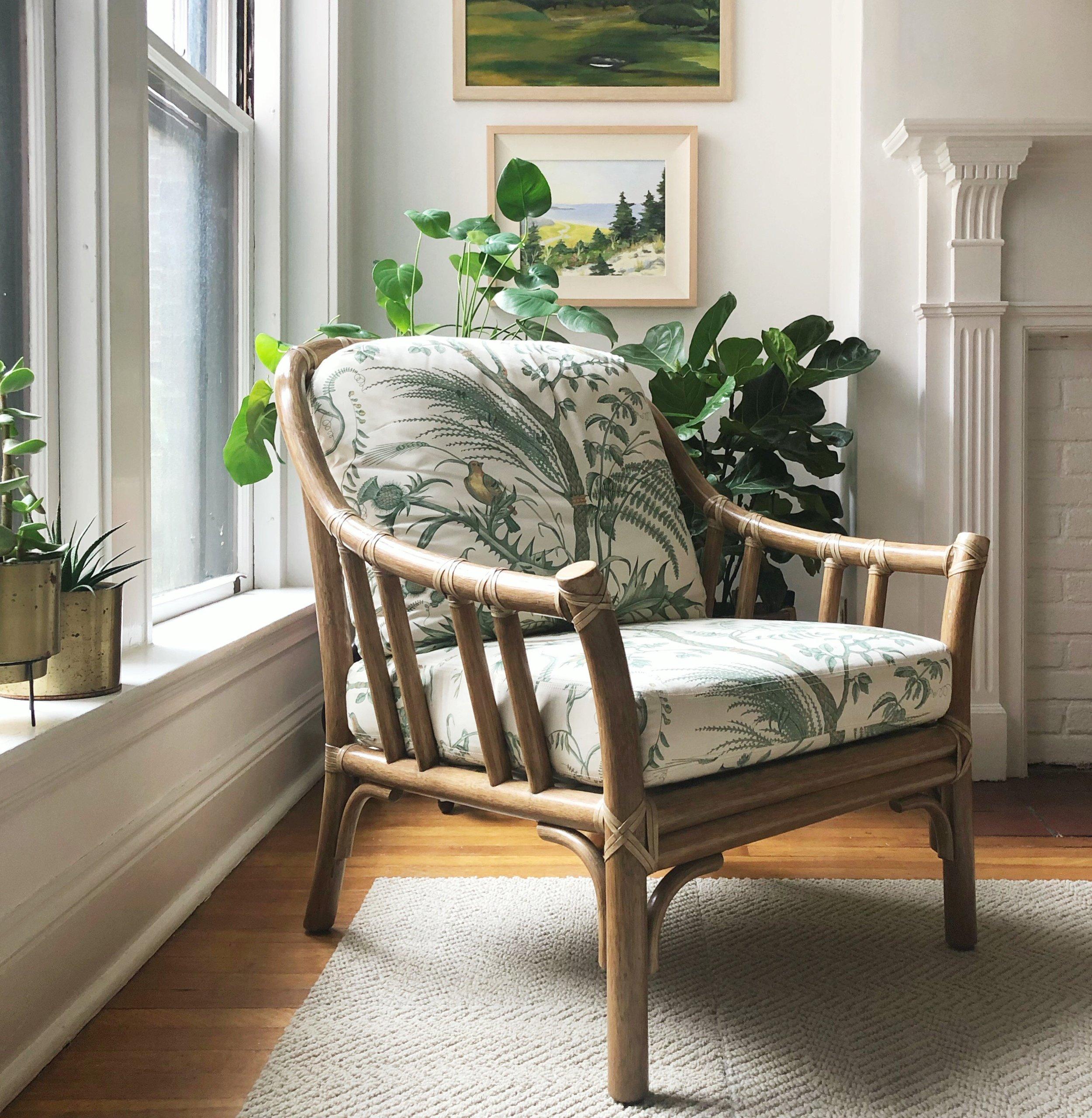 McGuire Rattan Chair