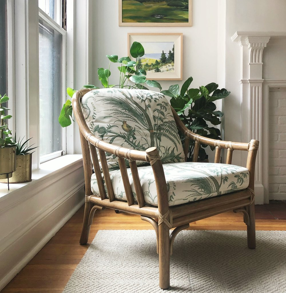McGuire Rattan Chair