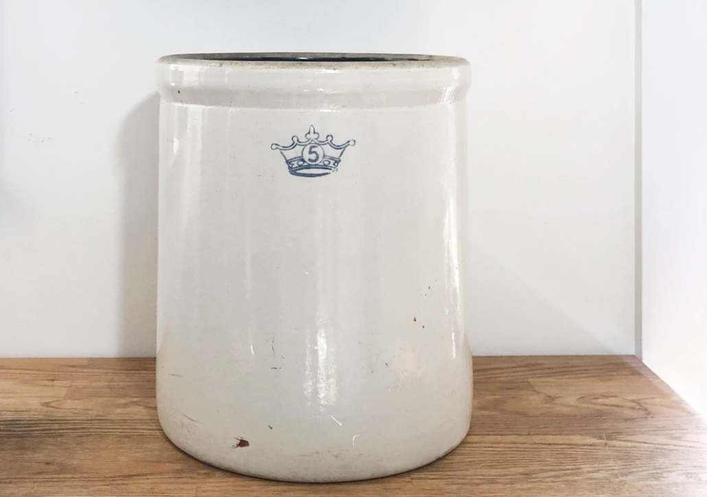 Robinson-Ransbottom 5 Gallon Stoneware Crock