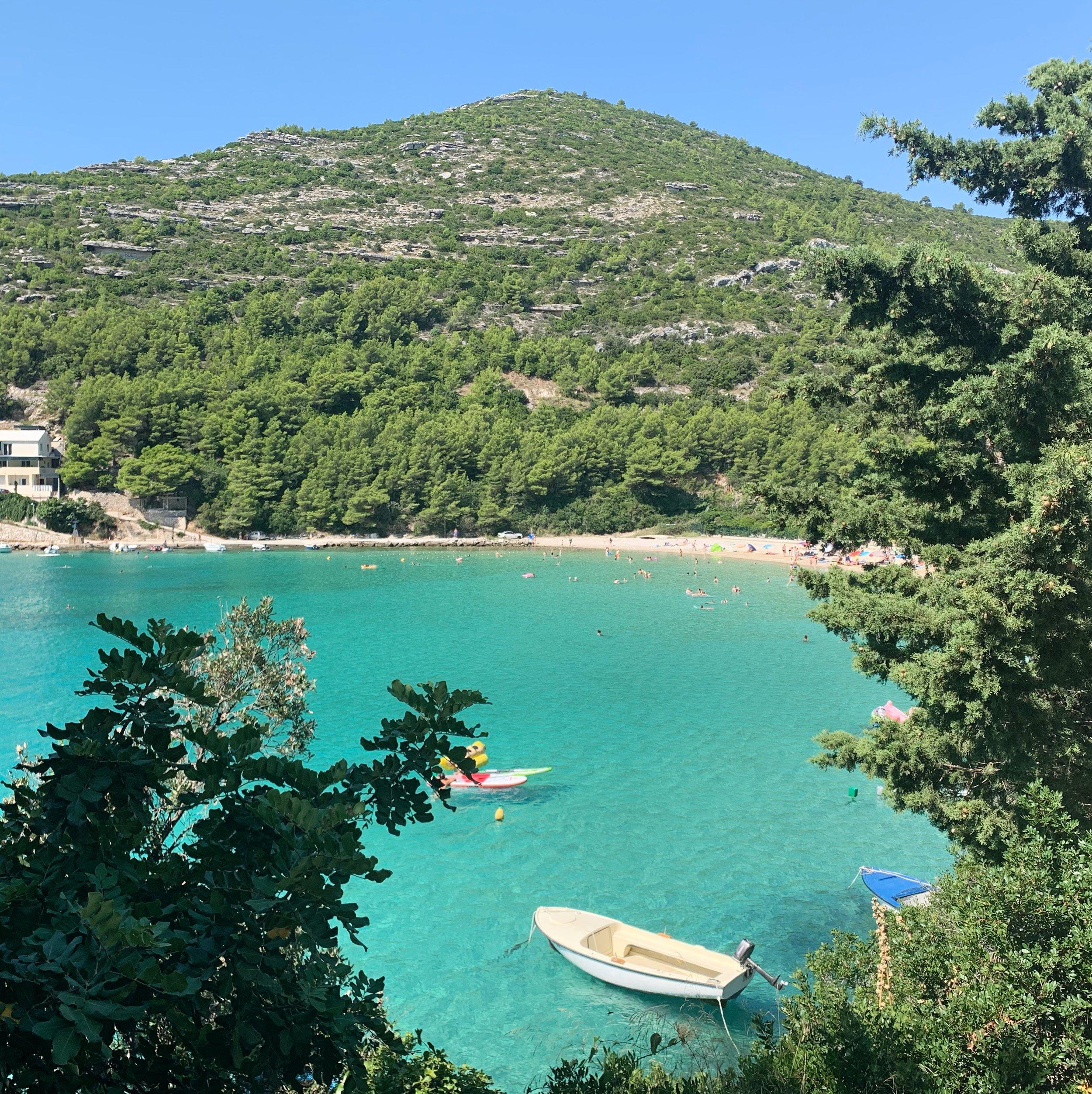 Prapratno Beach, Peljesac Peninsula, Croatia