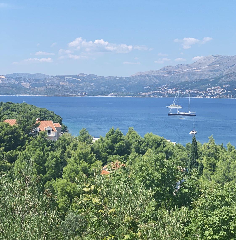 View from   Villa Alegria Cavtat