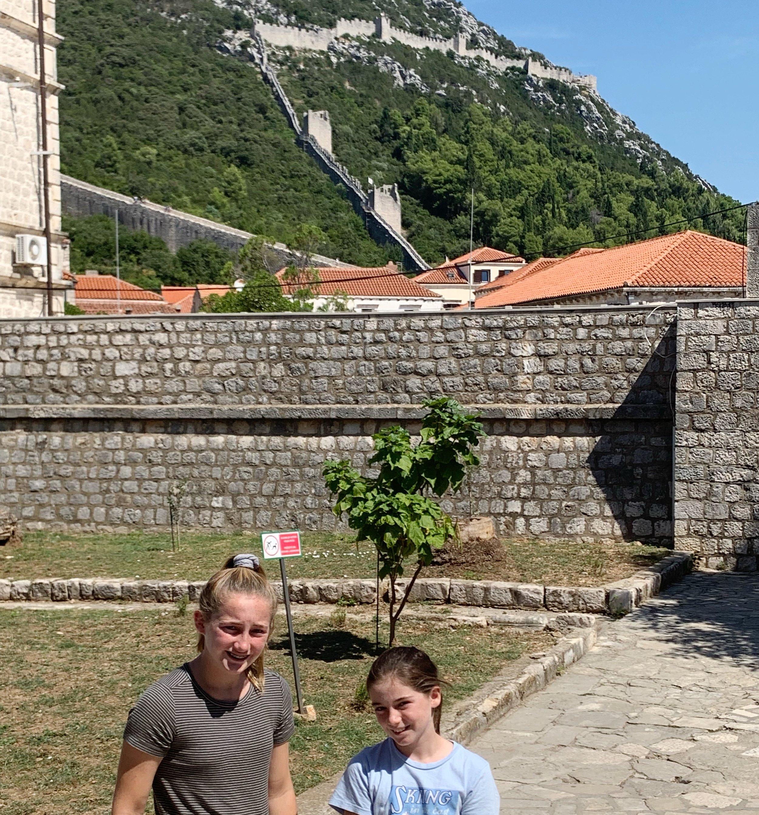 The Great Wall of Ston, Croatia