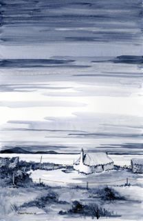 BLACKHOUSE, NORTH UIST BY RHONA MORRISON