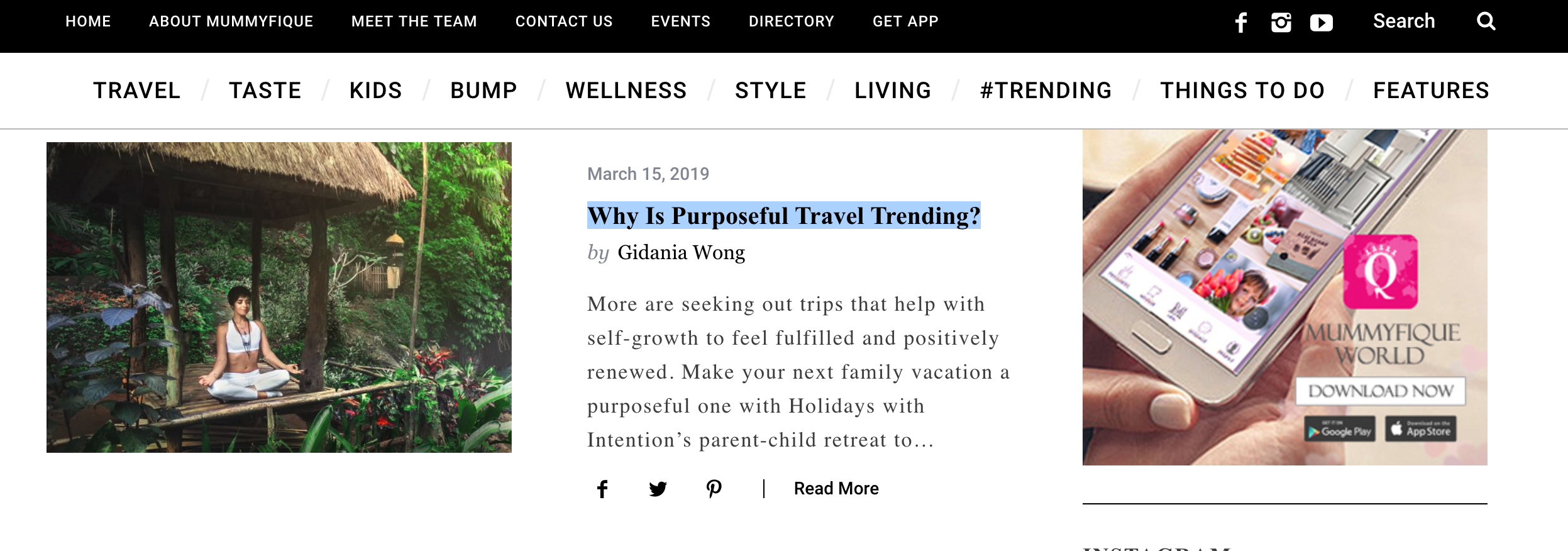 Read Article : Why Is Purposeful Travel Trending