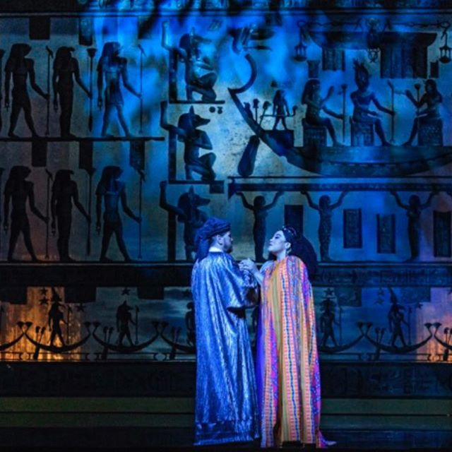 Proud to be part of a beautiful production.  #aida #giuseppeverdi #verdi #joegreen #verdisoprano #sopranos #blackoperasingers
