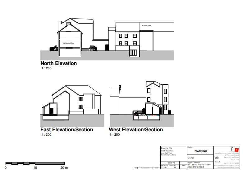 Planning application drawings