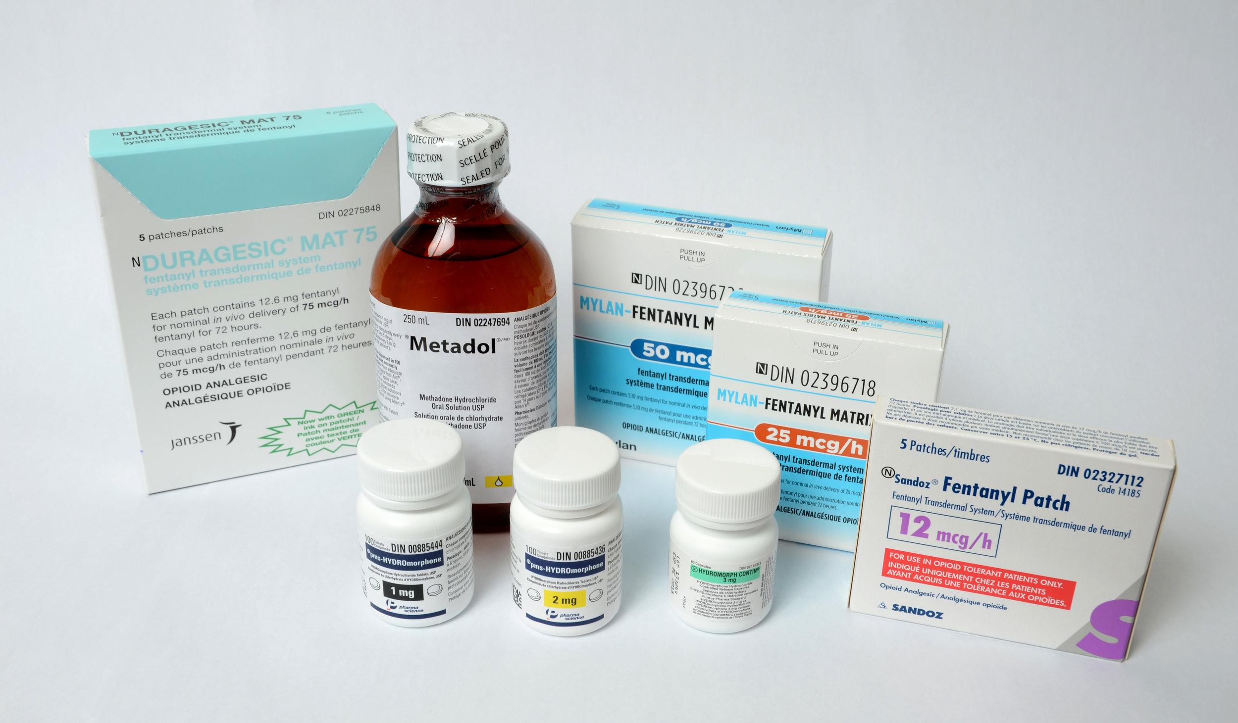 Réduction des opioïdes -